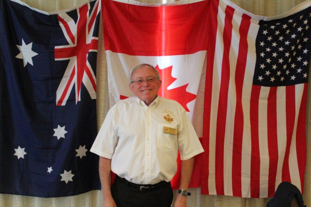 Canada Junior Chamber of Commerce former president Blair Fraser